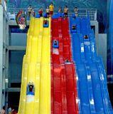 山西游乐设备厂家广州浪腾直销水上滑梯彩虹竞赛滑梯