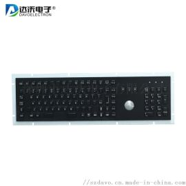 深圳达沃金属键盘厂家 金属PC键盘