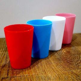 PP塑料杯 儿童塑料水杯 磨砂塑料茶水杯