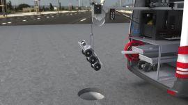 高清管道快速视频内窥检测系统 CCTV管道机器人