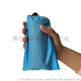 格子布沙滩垫防潮垫口袋毯便携野餐垫150cm