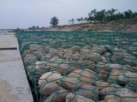 防水土流失河道治理格宾网|水利建设电焊石笼网