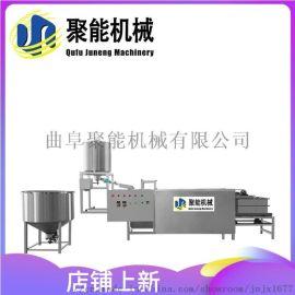 全自动干豆腐机厂家 全自动豆腐皮机生产视频