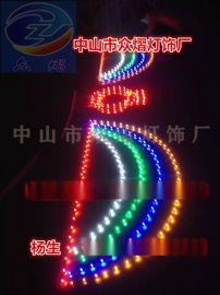新款led中国结 路灯杆挂件灯 外墙亮化图案灯