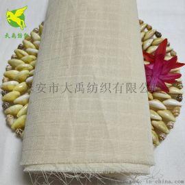 全棉纱布坯布 精梳紧密纺织全棉双层小方格纱布胚布