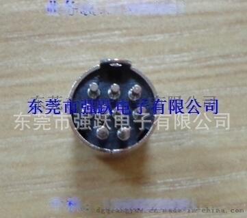焊线试MINIDIN中连接器,4PIN**镀镍镀银,MINIDIN4PIN粗针端子