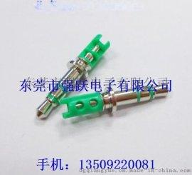 3.5*6.0四极镀金耳机插针,耳机插针,耳机插头