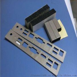 厂家定做 电子产品全方位导电泡棉 导电屏蔽材料