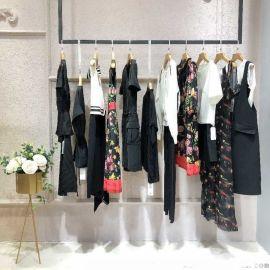休闲女装外套璱纳品牌女装尾货女式皮衣女装中年