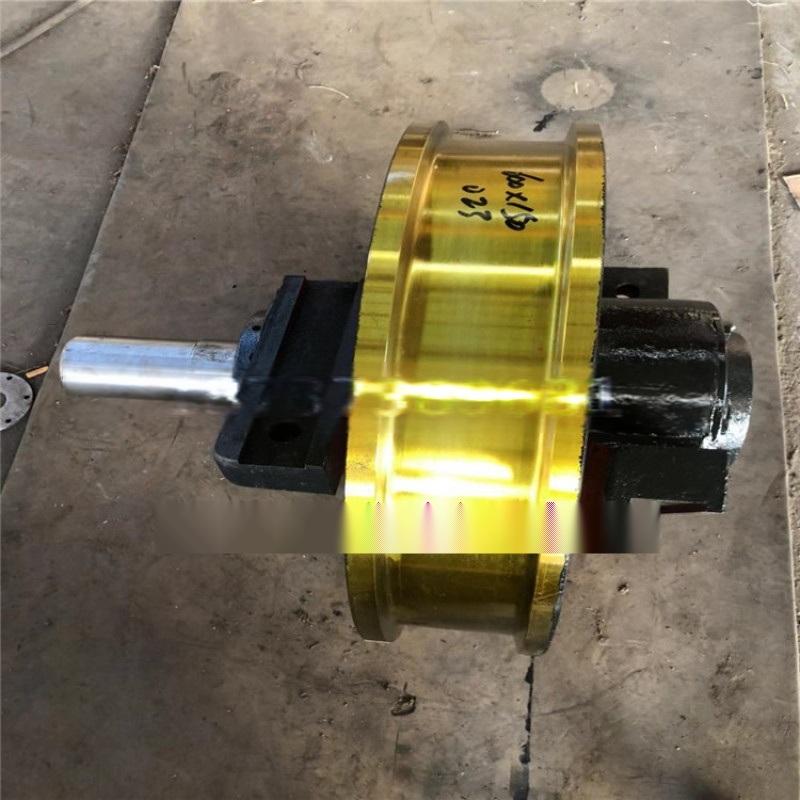 锻造主动车轮组 现货起重机车轮组淬火调制坚固耐用