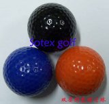 高爾夫雙層彩色練習球