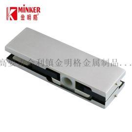 厂家直销无框玻璃门夹不锈钢上夹MK-020