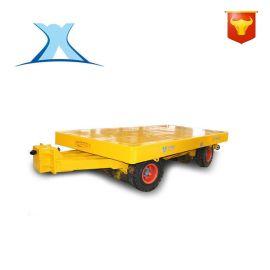 分体式无轨控制电动运输摇控平板车 冷库无轨智能搬运推货车制造