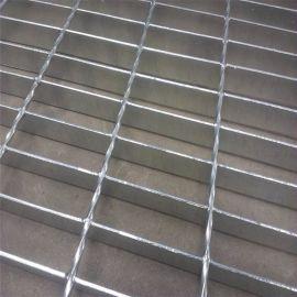热浸锌电厂平台踏步网格板 生产停车场用格栅板的厂家