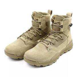 保暖沙漠靴战术靴军靴07作训鞋作战靴牛皮户外鞋防水登山鞋情侣款
