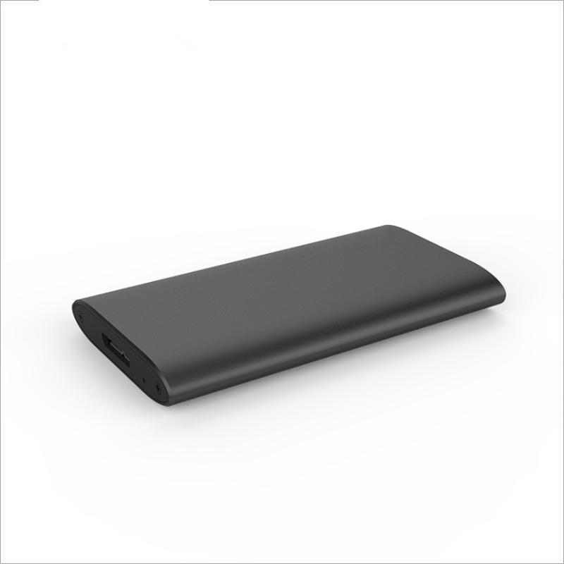 鑫愿NGFF转USB迷你固态硬盘盒长短款SSD硬盘USB外置盒M.2