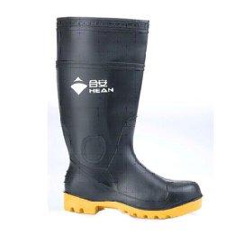 PVC雨靴(黑帮黄底)12002