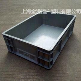 厂家直销 塑料周转箱 EU箱 600*400*160 汽车配件箱 电子周转箱