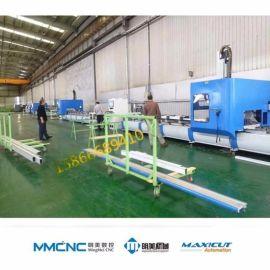 山東明美 龍門四軸加工中心 工業鋁型材數控加工中心