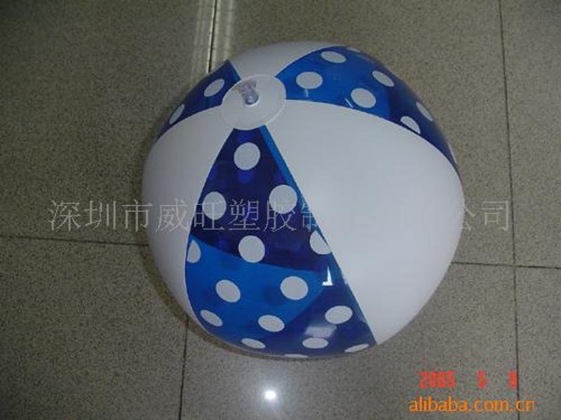 供应深圳厂家生产充气水球,充气沙滩球