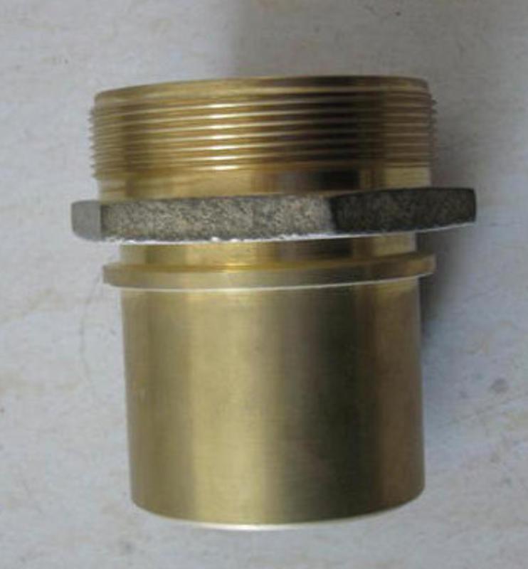 黄铜比塔接头 盾构机掘进机软管铜接头DIN2817海瑞克盾构机配件