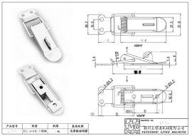 厂家直销 QF-集装箱搭扣 特种集装箱不锈钢搭扣 船用电器箱柜搭扣
