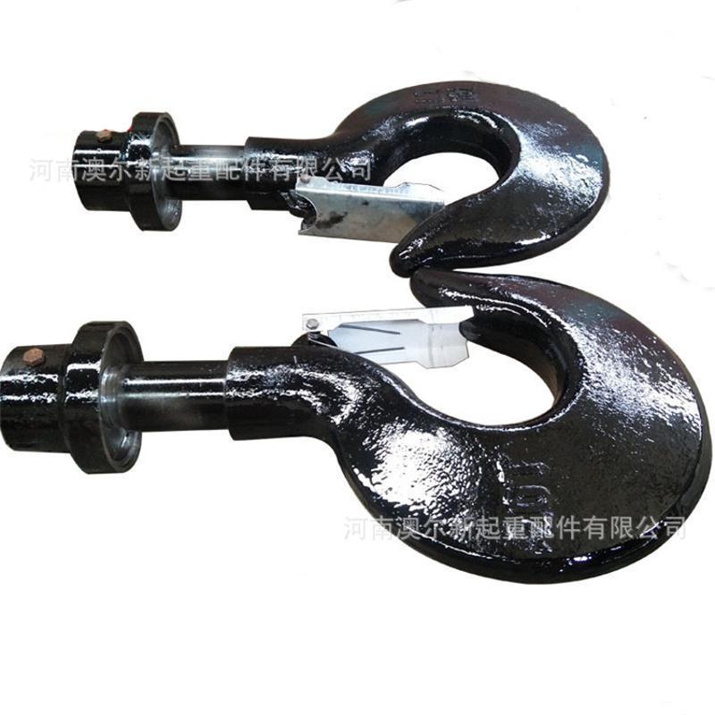 厂家直销起重机双梁钩头 锻打钩头葫芦配件吊钩钩头
