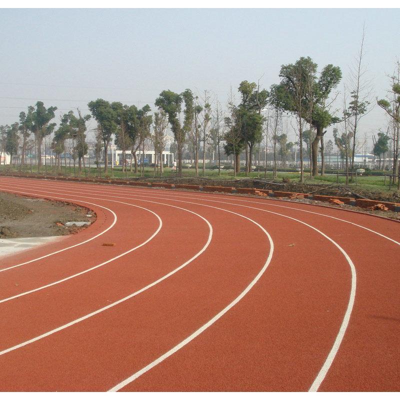 彈性矽PU球場 4MM高彈性運動塑膠跑道 顆粒狀籃球場網球場