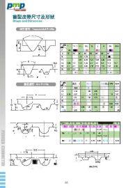 传动皮带各齿型,PU传动带,CR齿形同步带