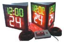 三面24秒计时器
