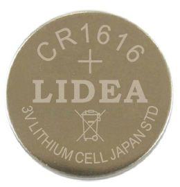 工厂直销手表电池力电LIDEA3V**锰纽扣电池CR1616