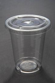 12ozPET一次性塑料杯果汁杯奶茶杯吸管杯冰咖啡杯