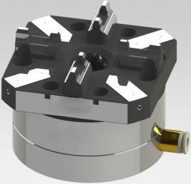 厂家优惠供应CNC单头气动卡盘 可与EROWA通用互换 精密定位夹具