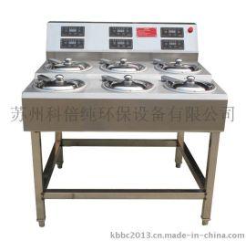 供应直销批发 科倍纯煲仔饭机 6头煲仔饭机 厨房设备