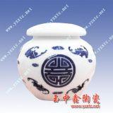 陶瓷茶叶罐 高档米罐 青花瓷药罐厂家定做
