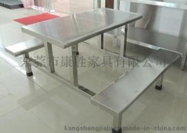 员工餐桌(易洗易擦)连体8人餐桌椅-8人座餐桌椅多少钱