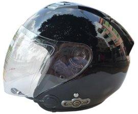 摩托车头盔一体化蓝牙头盔