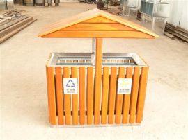 山东环保户外垃圾桶铁制果皮箱大号工业室外分类环卫垃圾箱小区垃圾筒双桶