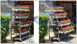 层车 花卉层车 可拆卸方便移动的花卉周转车