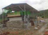 打樁泥漿集中處理站案例, 打樁泥漿脫水設備