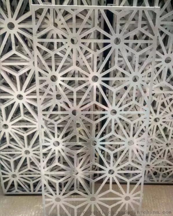 熱轉印木紋鋁材格柵窗花