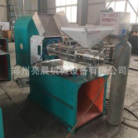 新型全自动螺旋榨油机 液压螺旋榨油设备 螺旋花生榨油机