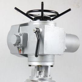 法兰籿胶铝合金GJ941X-6L手轮电动管夹阀DN50 65 80 100 150