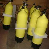 12升潜水钢瓶 12L气瓶国产高压潜水瓶套 潜水氧气瓶装备潜水用品