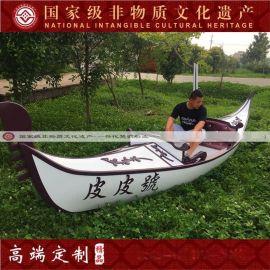 楚歌厂家供应广东旅游景区威尼斯贡多拉装饰道具船欧式贡多拉手划船