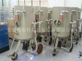斯特尔钢结构型材除锈专用开放式喷砂机