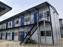 潍坊勇士彩钢活动板房住人集装箱房材料生产厂家