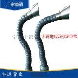 丰运管业供应内径43-180mm免支撑型万向竹节管