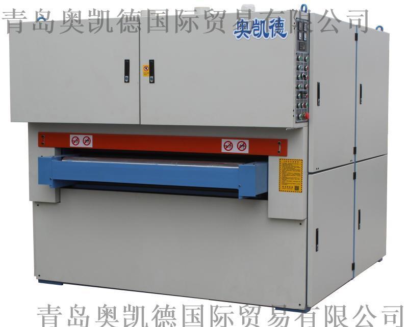600宽铝模板自动打磨机