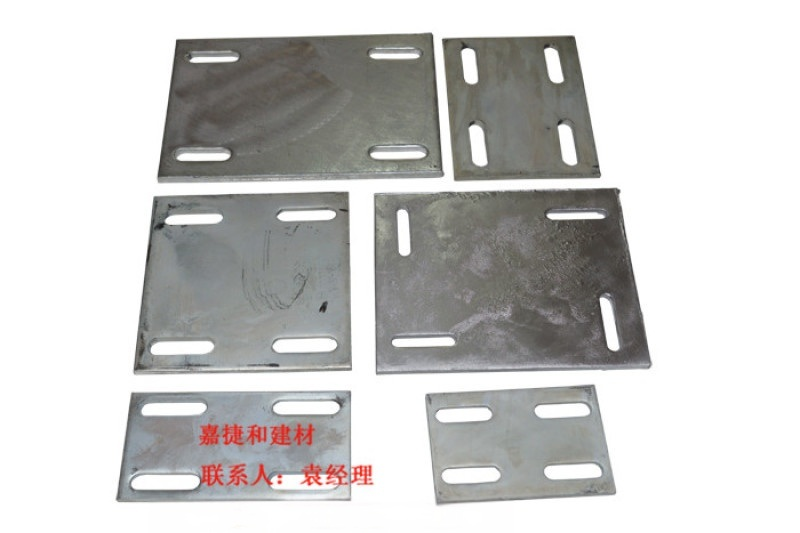 中山熱鍍鋅預埋鋼板加工廠家